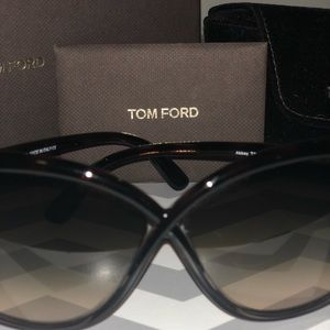 8abe0bfec68 Tom Ford Accessories - Tom Ford Abbey 63mm Oversized Sunglasses